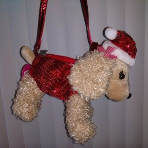 Poochie & Co. Holiday Dog Purse Cocker Spaniel